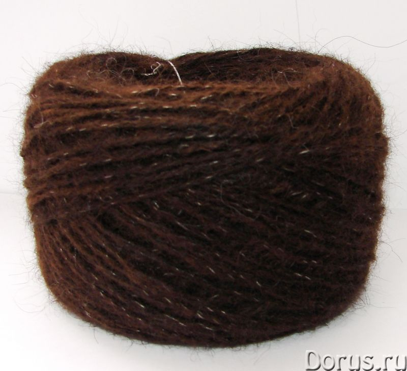 Пряжа «коричневая200м100гр» из собачьей шерсти.Шерсть собачья - Услуги народной медицины - Пряжа «ко..., фото 4