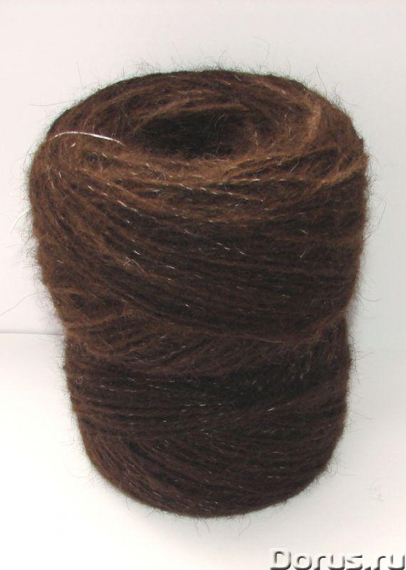 Пряжа «коричневая200м100гр» из собачьей шерсти.Шерсть собачья - Услуги народной медицины - Пряжа «ко..., фото 6