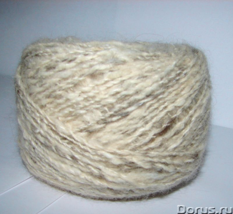 Пряжа «Белый Сторож меланж» 160м100гр для ручного вязания .Пряжа толстая .Шерсть - Услуги народной м..., фото 4