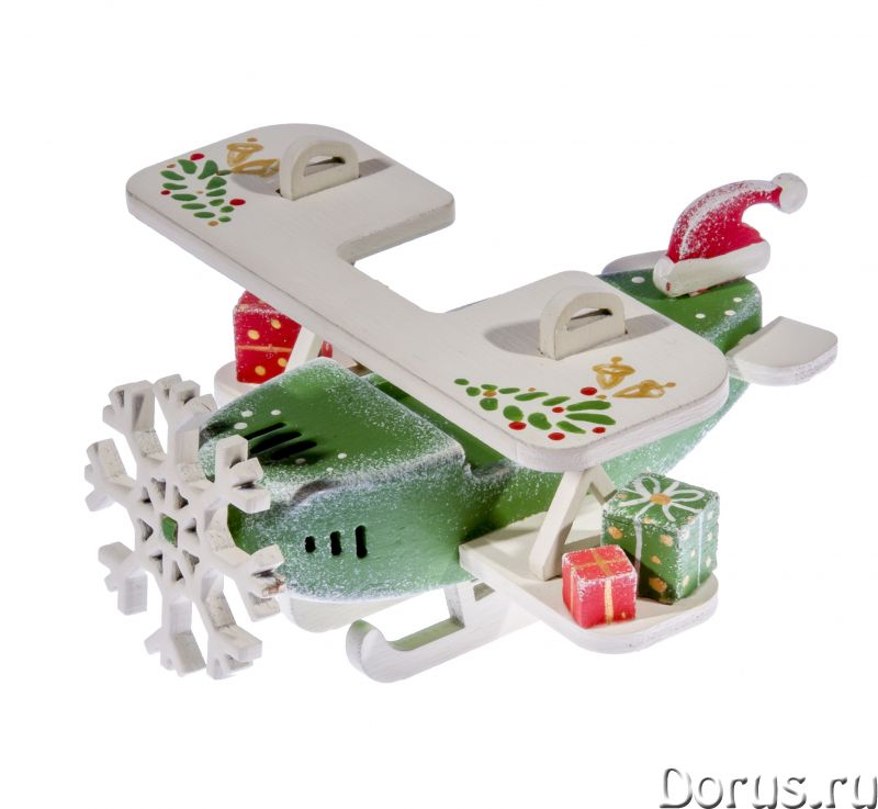Елочные игрушки, сувениры из дерева ручной работы - Поиск делового партнера - Предлагаем елочные игр..., фото 3
