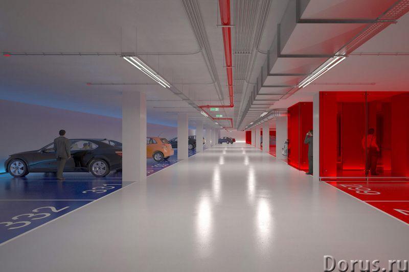 Продаю машиноместо в подземном паркинге комплекса апартаментов ЖК Classico. Олимпийский проспект, 10..., фото 2