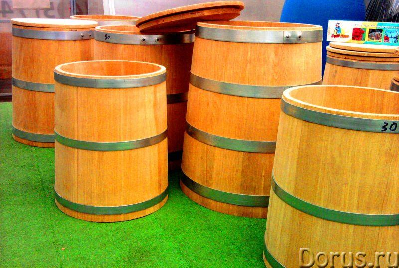 Кадка для засолки купить - Тара и упаковка - Дубовые кадки и бочки для солений - ёмкость цилиндричес..., фото 6