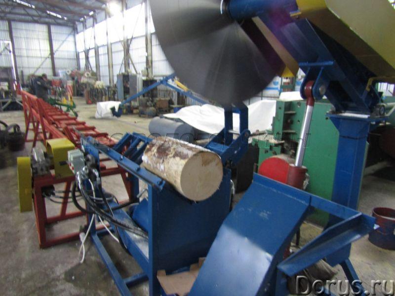 Торцовочная линия для брёвен - Лесная промышленность - Предназначен для торцовки, распиловки бревен..., фото 1