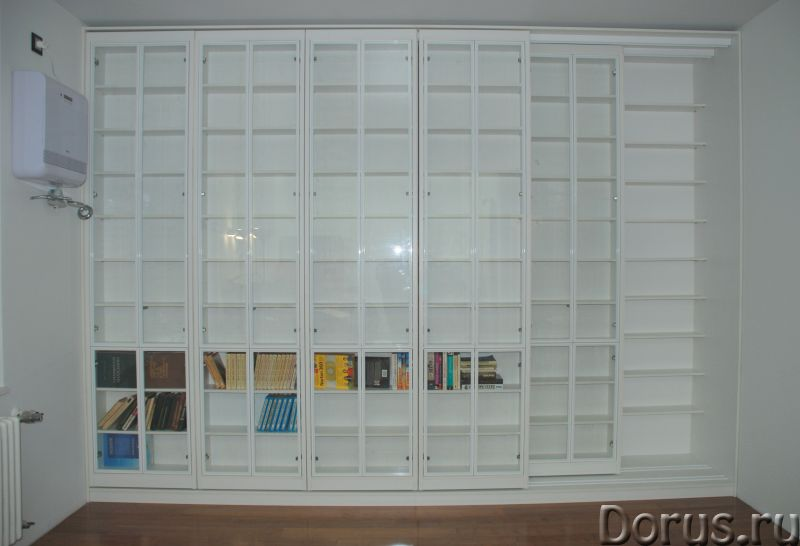 Раздвижная библиотека - Мебель для дома - Размеры: В 280 см x Ш 390 см х Г 64 см. Всего 8 двигающихс..., фото 3