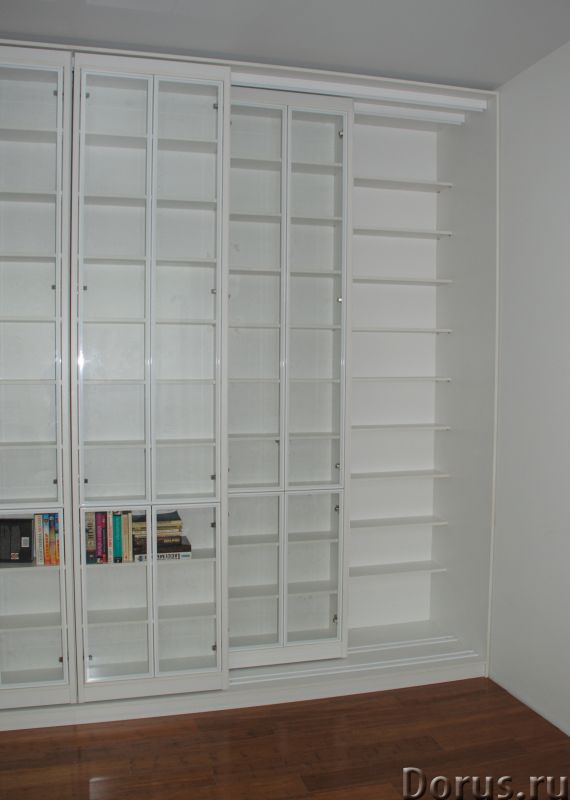 Раздвижная библиотека - Мебель для дома - Размеры: В 280 см x Ш 390 см х Г 64 см. Всего 8 двигающихс..., фото 6