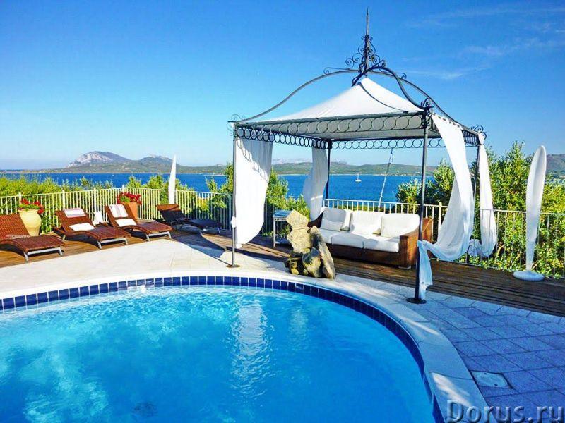 Вилла в аренду в Порто Ротондо, на Сардинии - Недвижимость за рубежом - Красивая вилла категории люк..., фото 1