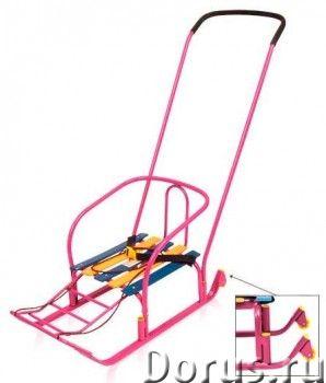 """Санки-коляска детские """"Тимка 3+"""" - Детские товары - Ручка-толкатель устанавливается в двух положения..., фото 1"""