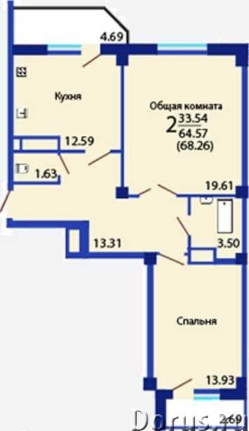 Двухкомнатная квартира в центре - Покупка и продажа квартир - Продается двухкомнатная квартира в г..., фото 1