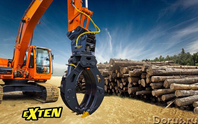 Бревнозахват (захват для леса) на технику 14-25 т - Лесная промышленность - Собственное производство..., фото 3