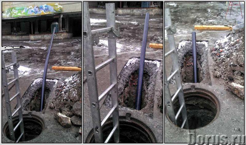 Санация трубопровода - Строительные услуги - Восстановление наружных трубопроводов системы канализац..., фото 1