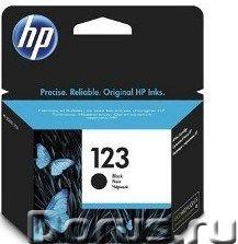 Картридж hp 123 ( F6V17AE ) черный - Расходные материалы - Ресурс: 120 страниц. Модели принтеров и М..., фото 1