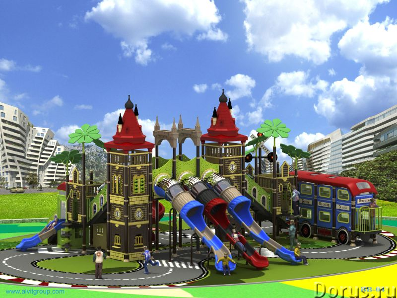 Детская игровая площадка Биг-Бен - Детские товары - Серия «Биг-Бен» представлена новыми главными эле..., фото 2