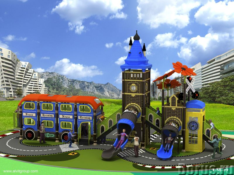 Детская игровая площадка Биг-Бен - Детские товары - Серия «Биг-Бен» представлена новыми главными эле..., фото 4
