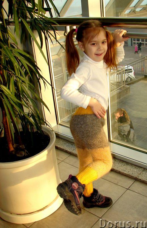 Штаны детские вязаные арт.№30дск зимние теплые «Подсолнечник» - Детские товары - Штаны детские вязан..., фото 5