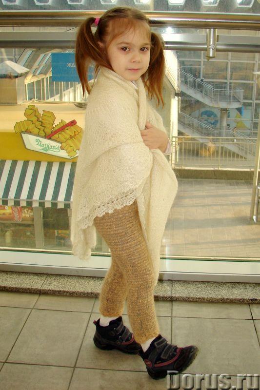 Штаны вязаные вручную «Нежное Чудо» детские для холодной зимы артикул №31дск - Детские товары - Штан..., фото 2