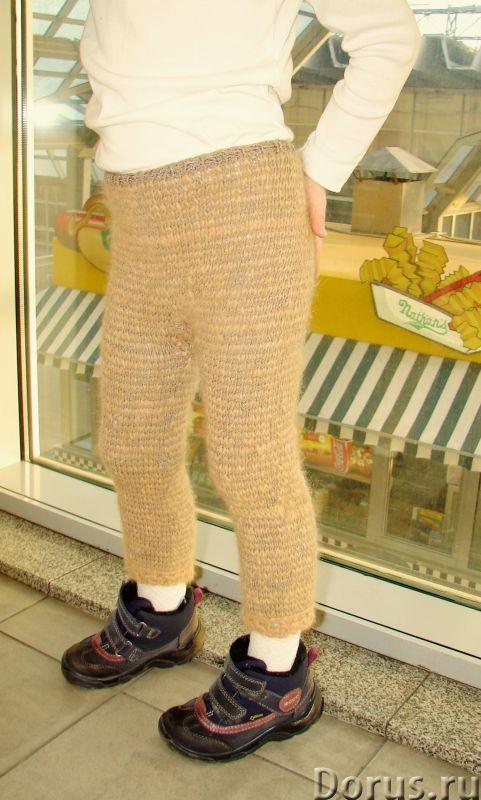 Штаны вязаные вручную «Нежное Чудо» детские для холодной зимы артикул №31дск - Детские товары - Штан..., фото 5