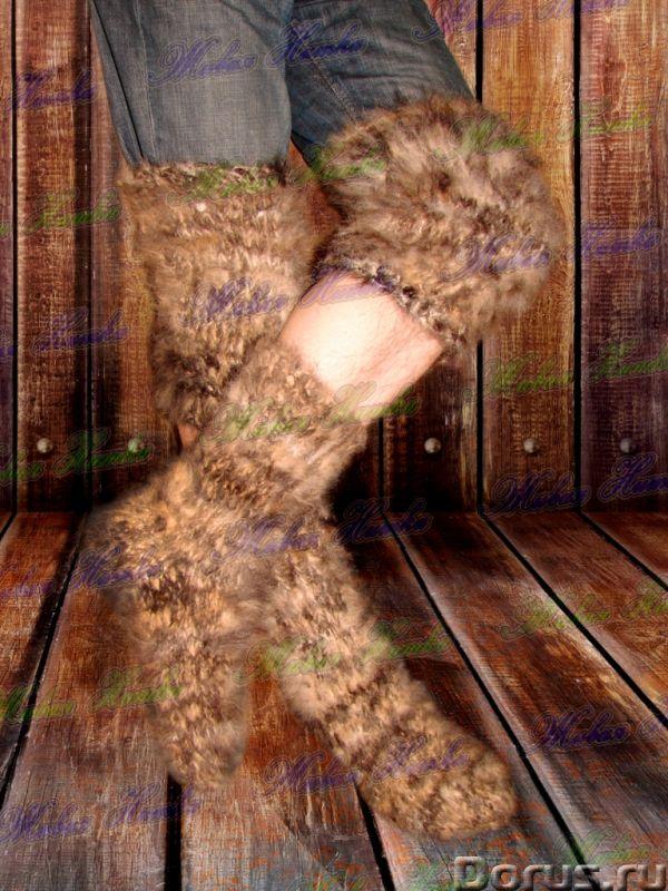 Целебный комплект артикул №19цк из собачьей шерсти (пуха) .Больная спина , ноги - Услуги народной ме..., фото 2