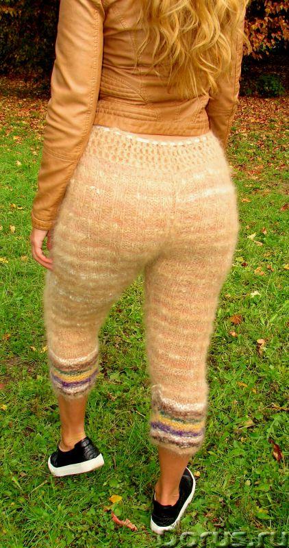 Штаны кашемировые женские вязаные арт№19ж из собачьей шерсти .Шерсть собачья.Здоровье - Одежда и обу..., фото 1