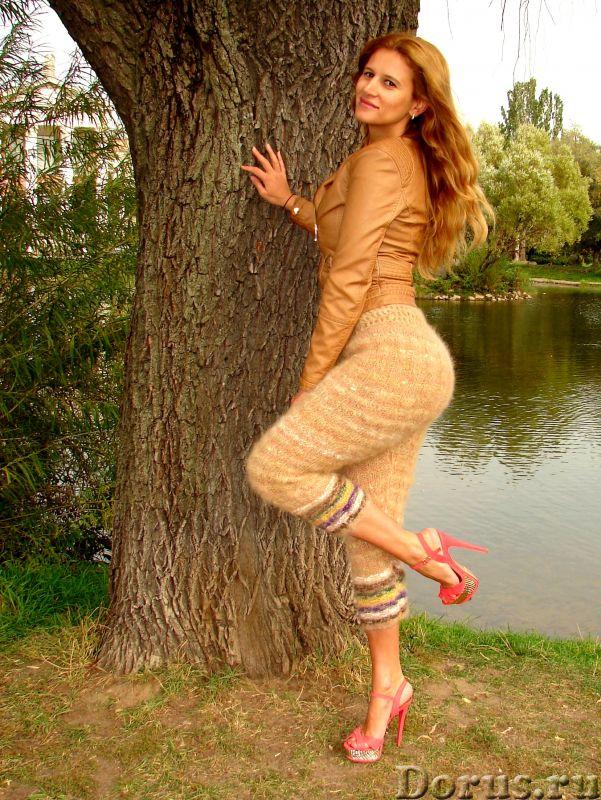 Штаны кашемировые женские вязаные арт№19ж из собачьей шерсти .Шерсть собачья.Здоровье - Одежда и обу..., фото 2