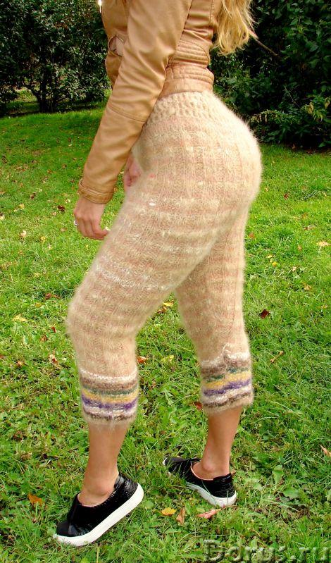 Штаны кашемировые женские вязаные арт№19ж из собачьей шерсти .Шерсть собачья.Здоровье - Одежда и обу..., фото 10