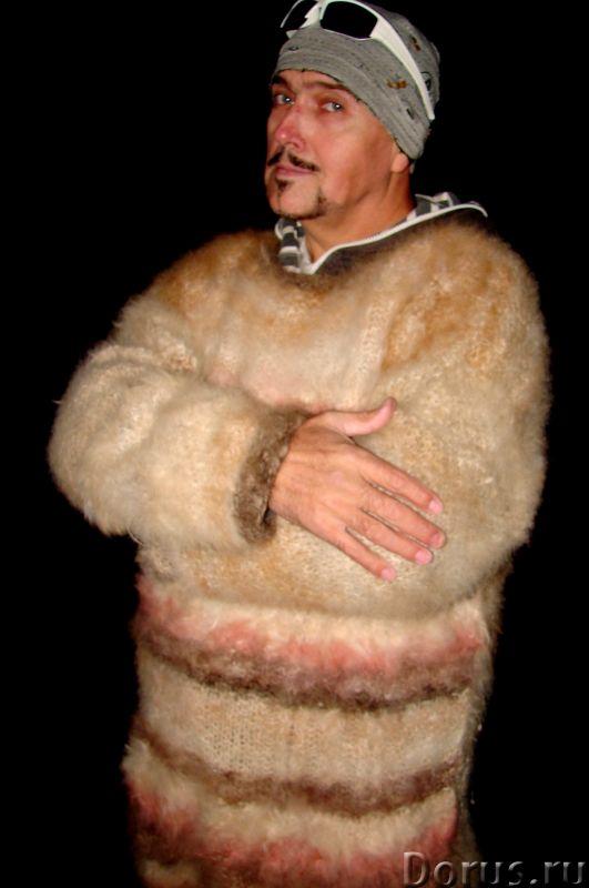 Свитер из собачьей шерсти . Колли шерсть.Шерсть кавказской овчарки - Одежда и обувь - Свитер из соба..., фото 1