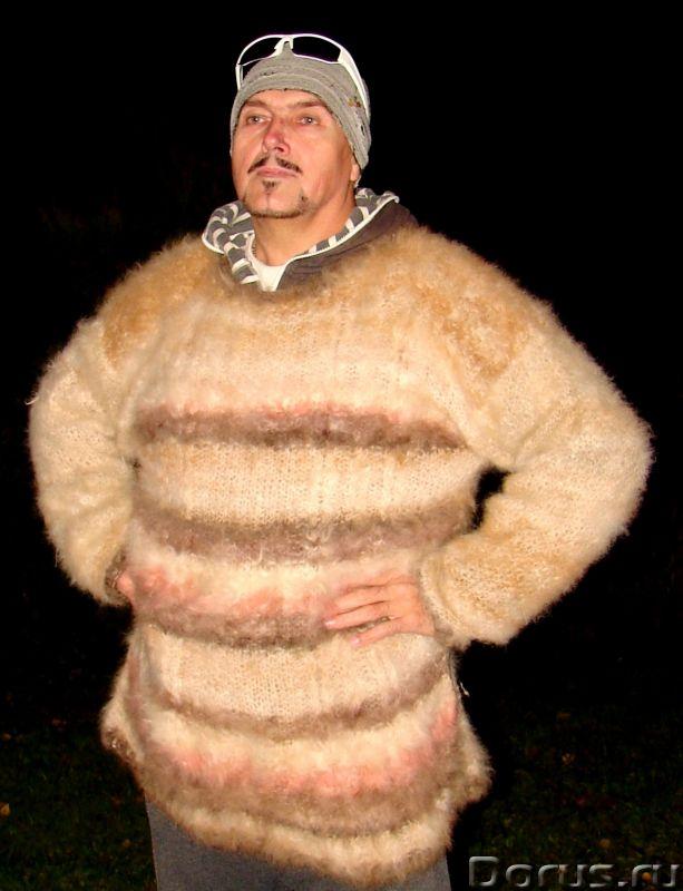 Свитер из собачьей шерсти . Колли шерсть.Шерсть кавказской овчарки - Одежда и обувь - Свитер из соба..., фото 2