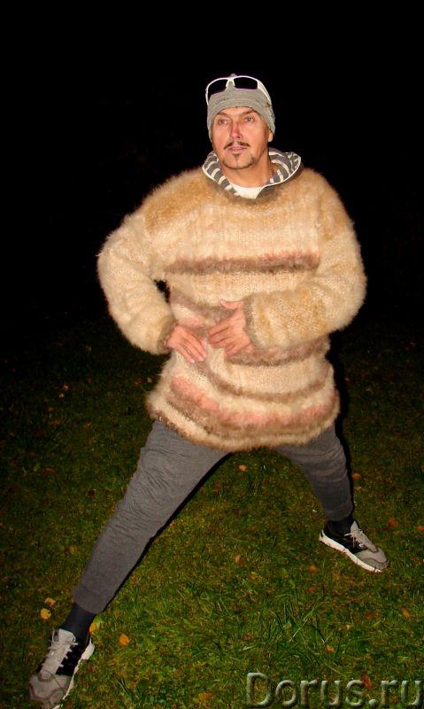 Свитер из собачьей шерсти . Колли шерсть.Шерсть кавказской овчарки - Одежда и обувь - Свитер из соба..., фото 5