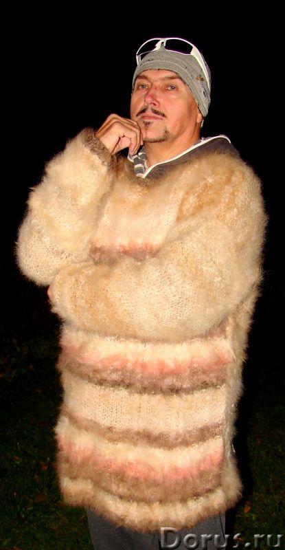 Свитер из собачьей шерсти . Колли шерсть.Шерсть кавказской овчарки - Одежда и обувь - Свитер из соба..., фото 6