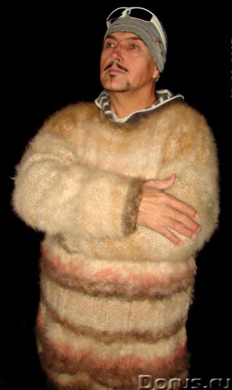 Свитер из собачьей шерсти . Колли шерсть.Шерсть кавказской овчарки - Одежда и обувь - Свитер из соба..., фото 8