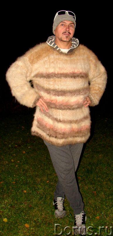 Свитер из собачьей шерсти . Колли шерсть.Шерсть кавказской овчарки - Одежда и обувь - Свитер из соба..., фото 9