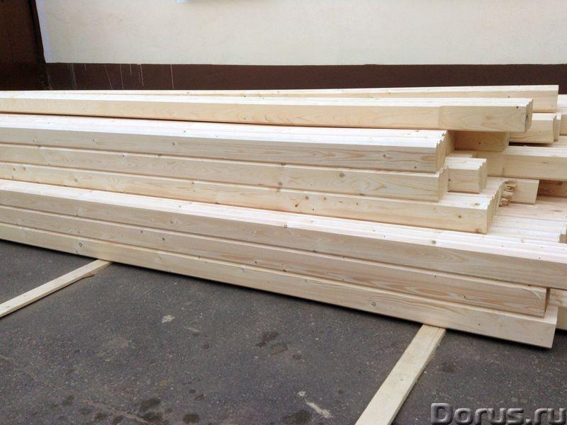 Профилированный брус и погонаж от производителя - Материалы для строительства - Компания Карелия-Вуд..., фото 1