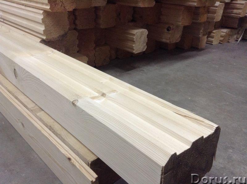 Профилированный брус и погонаж от производителя - Материалы для строительства - Компания Карелия-Вуд..., фото 2