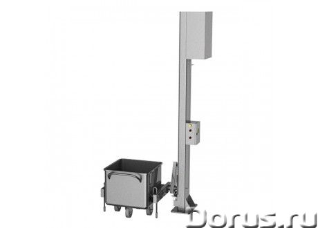 Подъемник тележек универсальный мачтовый – стационарный, ПУМ-О - Промышленное оборудование - Надёжны..., фото 1