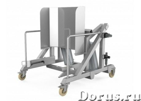 Подъемник тележек универсальный пневматический передвижной ПУВ-О-П - Промышленное оборудование - Под..., фото 1