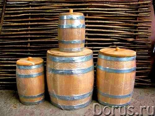 Дубовые бочки от производителя - Тара и упаковка - Деревянные бочки и кадки от производителя высоког..., фото 7