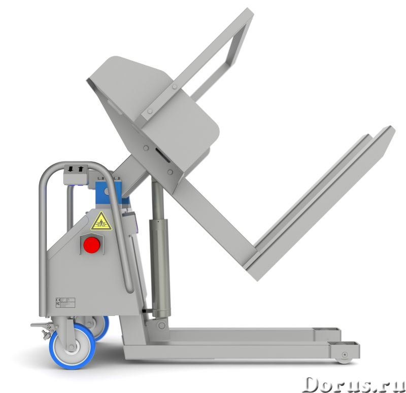 Подъёмник опрокидыватель загрузчик для пищевого производства - Промышленное оборудование - Компания..., фото 1