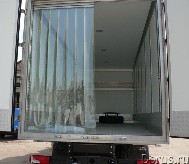 Мобильные полосовые ПВХ-завесы Frostwall® для фургона - Запчасти и аксессуары - 1. Снижают воздейств..., фото 1