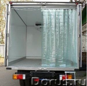 Мобильные полосовые ПВХ-завесы Frostwall® для фургона - Запчасти и аксессуары - 1. Снижают воздейств..., фото 2