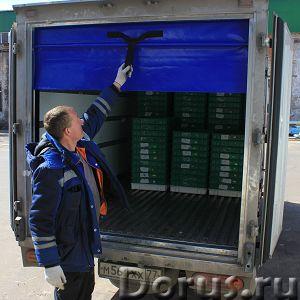 ПВХ-роллеты Frostwall® для фургона - Запчасти и аксессуары - КАКИЕ ЗАДАЧИ РЕШАЮТ: 1. Снижают воздейс..., фото 3