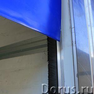 ПВХ-роллеты Frostwall® для фургона - Запчасти и аксессуары - КАКИЕ ЗАДАЧИ РЕШАЮТ: 1. Снижают воздейс..., фото 6