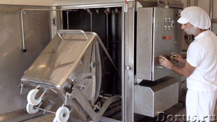 Мойка тележек чанов после творога и молока - Промышленное оборудование - ООО Агроконтинент производи..., фото 1