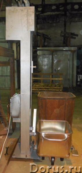 Подъёмник стационарный для пищевого перерабатывающего производства - Промышленное оборудование - ООО..., фото 1