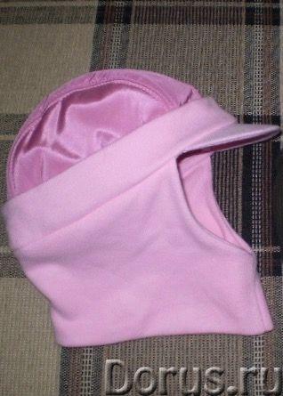 Кепка-шлем новый - Детские товары - Кепка-шлем для девочки (тёмных нет!) 5-9лет, осень-зима. Цвет -..., фото 2