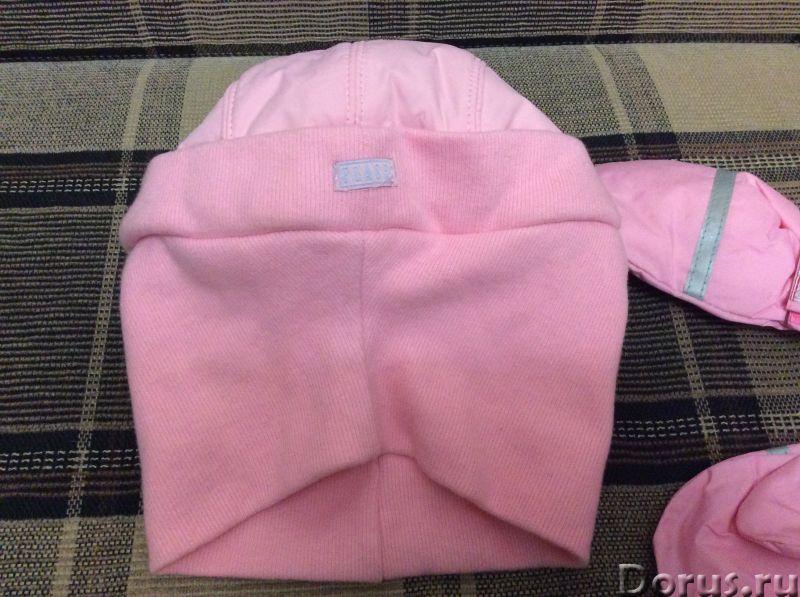 Кепка-шлем новый - Детские товары - Кепка-шлем для девочки (тёмных нет!) 5-9лет, осень-зима. Цвет -..., фото 3