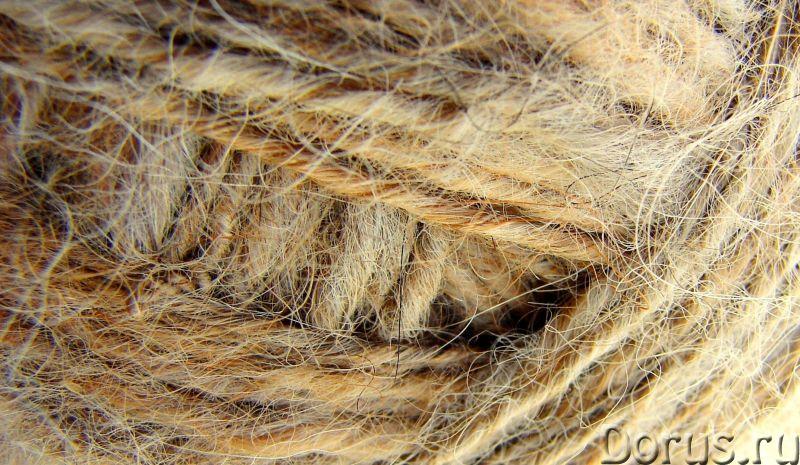 Пряжа «Шотландец» 250м100грамм из собачьей шерсти. Люмбаго. Радикулит - Прочее сырье - Пряжа «Шотлан..., фото 6