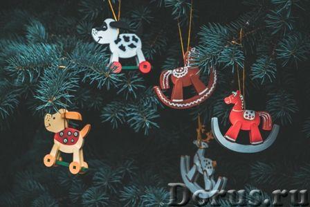 Символ 2018 года. Желтая собака ! Елочные игрушки и сувениры из дерева, ручной работы - Подарки и су..., фото 2