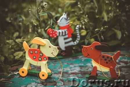 Символ 2018 года. Желтая собака ! Елочные игрушки и сувениры из дерева, ручной работы - Подарки и су..., фото 5