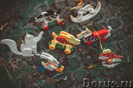 Символ 2018 года. Желтая собака ! Елочные игрушки и сувениры из дерева, ручной работы - Подарки и су..., фото 8