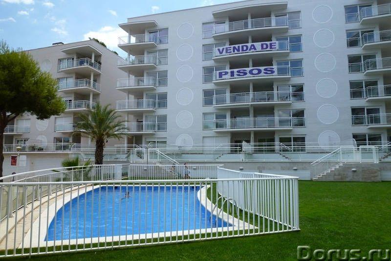 Квартиры нового комплекса с бассейном в престижном курортном городке на побережье Коста Брава - Недв..., фото 1