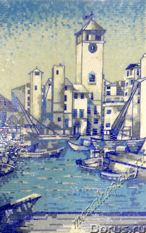 Панно из мoзaики - Материалы для строительства - Панно из матричной и колотой мозаики для ванной, ку..., фото 4